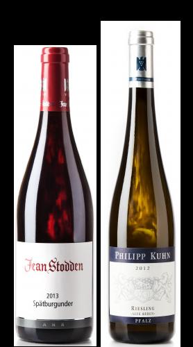 Weingeschenk Jean Stodden Spätburgunder Philipp Kuhn Riesling