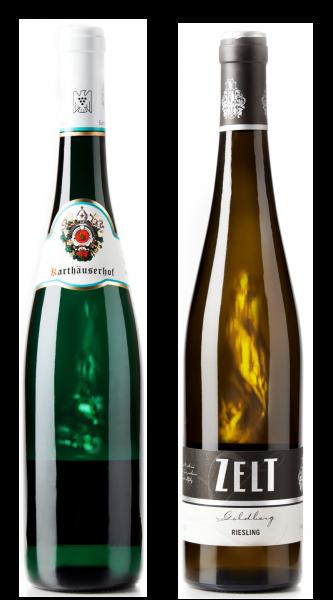Weingeschenk Riesling Karthäuserhof Alte Reben Spätlese Zelt Bisserheimer Goldberg