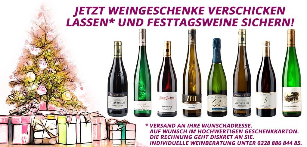 Wein Weihnachtsgeschenke | natuerlich-wein.de