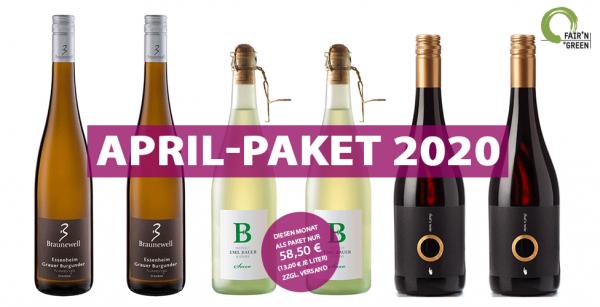 Das April-Paket 2020