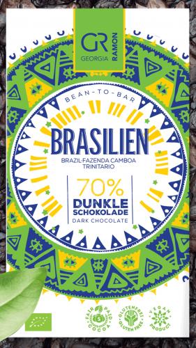 Bio-Brasilien (Fazenda Camboa) 70 % - Dunkle Schokolade