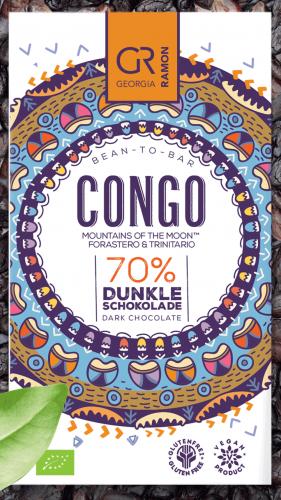 Bio-Congo 70 % - Dunkle Schokolade