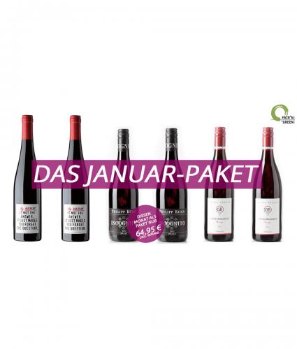Wein-Monatspaket Januar 2018