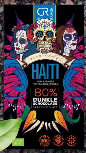 Bio-Haiti 80 % - Dunkle Schokolade