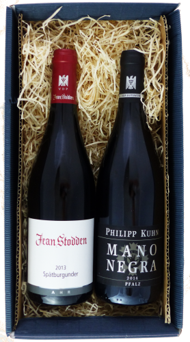Weingeschenk Rotwein Jean Stodden Philipp Kuhn