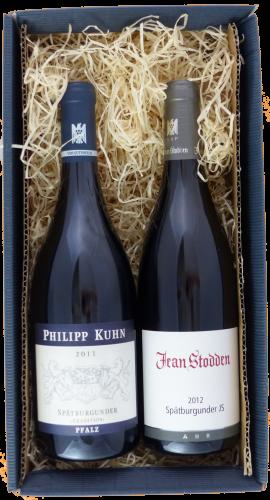 Weingeschenk Spätburgunder Jean Stodden Philipp Kuhn