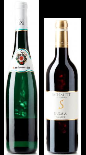 Weingeschenk Karthäuserhof Riesling Schmitt DUCA
