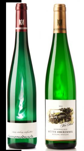 Weingeschenk Mosel Riesling Clemens Busch vom roten Schiefer von Hövel Hütte Oberemmel Spätlese