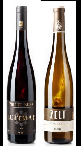 Weingeschenk Pfalz Philipp Kuhn Luitmar Zelt Riesling Alte Reben