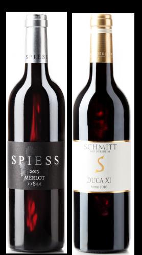 Weingeschenk Rotwein Merlot S Spiess DUCA Egon Schmitt