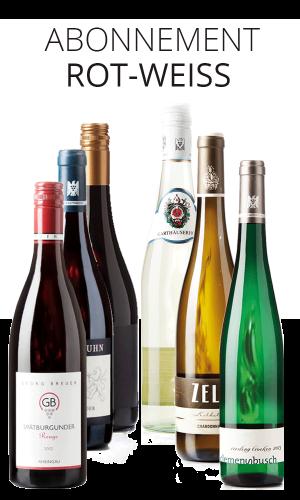 Rot- und Weisswein Abonnement